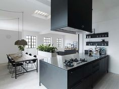 Viking Pencil Factory in Denmark Turns Into a Cozy Contemporary Loft | Home Design Lover