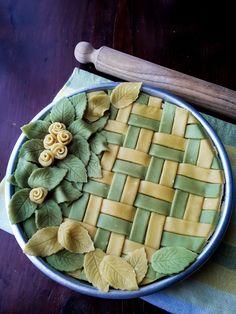 Vegan Tarts, Pies Art, Pie Hole, Elegant Desserts, No Bake Pies, Christmas Baking, Soul Food, Apple Pie, Baked Goods