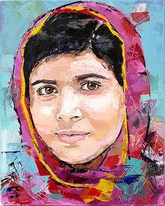 Malala Yousafzai by Richard Day