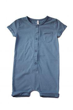Gray Label Summersuit Shortleg Denim in 3/4 grey fo rOliver next summer // love all their stuff for both kids