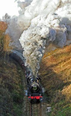 Steam train!