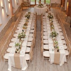 Diy burlap runners this is also good inspiration for color scheme hessian table runner rustic wedding wedding tables searching wedding decoration harvest table decorations tray tables search junglespirit Choice Image