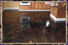 Acid Stained Concrete Floors - Decorative Concrete Overlay Specialist - Architectural Concrete - Micro Finish Overlay