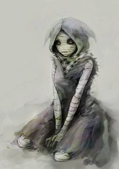 Tokyo Ghoul fan art, Eto (M: Omg do you already know THAT spoiler about her??…