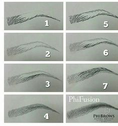 How To Draw Eyebrows This Makes So Much Sense If You Relate It To