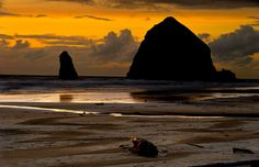 Haystack Rock by Alex Smith on 500px