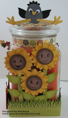 """Paper Punch Addiction: Peachy Keen """"Let's Face it Fridays"""" Challenge #3 (with Stampin' Up!)"""