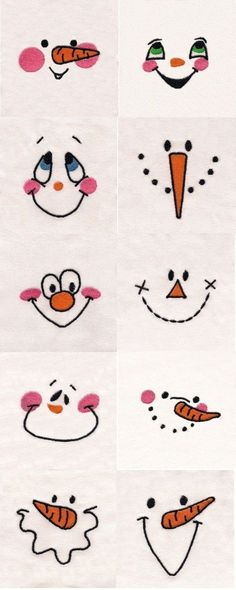Free Printable Snowman Face Template - Bing Images Christmas - snowman face template