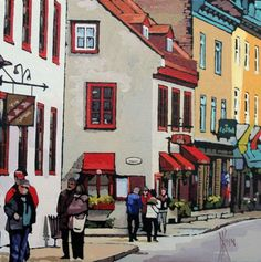patrick kinn painter  #Quebec #Paysage #Landscape #Art #Artist #Artwork #Painting #peinture #Artiste #ArtGallery #GalerieDart #Canada #quebeccity Galerie D'art, Quebec, Rue, Land Scape, Les Oeuvres, Art Gallery, Street View, New York, Painting