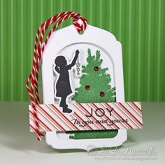 In My Creative Opinion: 25 Days of Christmas Tags - Day 18 and a Treat