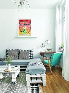 Zdjęcie numer 3 w galerii - 3-pokojowe mieszkanie w Gliwicach. Wnętrza pełne stylu