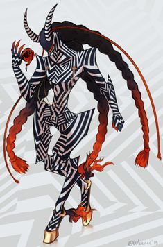 Video Game Characters, Anime Characters, Fictional Characters, Aliens, Character Art, Character Design, Dark Creatures, Shin Megami Tensei Persona, Persona 4