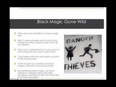 Black Magic Gone Wild - YouTube