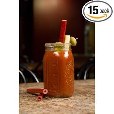 Benny's Bloody Mary Beef Straw