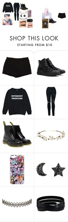 """Meeting Daniel James Howell"" by victoriasimonettis on Polyvore featuring L'Agence, Converse, Dr. Martens, Cult Gaia, Assya London and She.Rise"