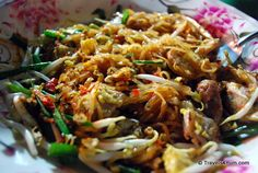 Pad thai. An explosion of flavor.