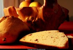 Bread - raisins and caraway seeds - enriched dough - Christina Rossetti