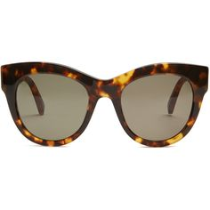 Stella McCartney Falabella cat-eye acetate sunglasses (160 AUD) ❤ liked on Polyvore featuring accessories, eyewear, sunglasses, glasses, tortoiseshell, cat eye sunnies, tortoise shell cat eye glasses, tortoise shell glasses, tortoise shell sunglasses and tortoise cat eye sunglasses