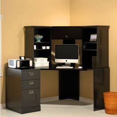 Office Options On Pinterest Corner Desk With Hutch