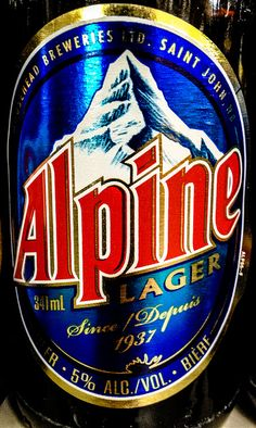 Moosehead Breweries - Alpine Lager - Saint John, New Brunswick, Canada by mbell1975, via Flickr