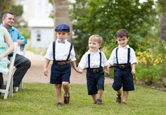 Cute page boy ring bearers // Loft Photographie // http://blog.theknot.com/2013/09/23/the-cutest-page-boy-ring-bearers-in-texas-hill-country/