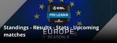I was going to comment on how the ESL shouldn't use the EU flag for Pro League because of Brexit but then I remembered all the English teams decided to leave when their country voted to leave the EU #games #globaloffensive #CSGO #counterstrike #hltv #CS #steam #Valve #djswat #CS16