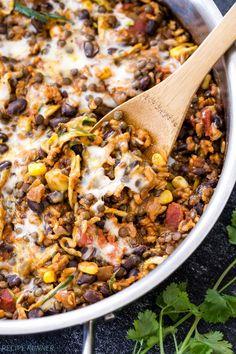 Black Beans And Rice, Lentils And Rice, Mexican Black Beans, Mexican Chicken And Rice, Black Bean Chicken, Lentil Recipes, Vegetarian Recipes, Healthy Recipes, Recipes For Lentils