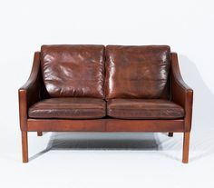 Børge Mogensen Model No. 2208 Two-Seat Sofa