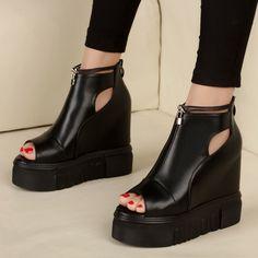 32.10$  Watch now - https://alitems.com/g/1e8d114494b01f4c715516525dc3e8/?i=5&ulp=https%3A%2F%2Fwww.aliexpress.com%2Fitem%2FWomen-Sandals-Heels-12cm-Fashion-Sandal-Wedge-For-Women-New-Style-Korean-Shoes-For-Women-Sandalia%2F32783497894.html - Women Sandals Heels 12cm Fashion Sandal Wedge For Women New Style Korean Shoes For Women Sandalia Feminina Salto Alto 32.10$