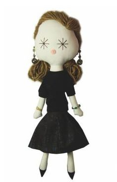 Laloushka -  Miuccia Prada doll http://knuffelsalacarteblog.blogspot.nl/