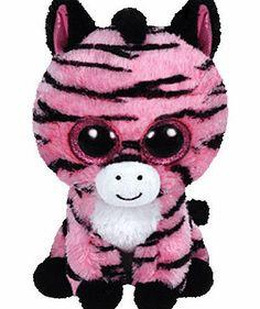 Beanie Boo Buddies Ty Beanie Boo Buddy - Zoey the Zebra Soft Toy Beanie Boo Buddies are the cuddliest animals in the world!Zoey the Zebrarsquo