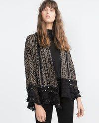 PRINTED KIMONO from Zara (49.95 EUR)
