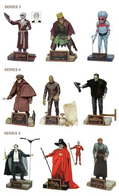 Cool Monsters, Horror Monsters, Famous Monsters, Classic Monsters, Sci Fi Horror Movies, Classic Horror Movies, Monster Toys, Monster Art, Sideshow Toys