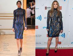Jennifer Lopez In Zuhair Murad - 25th Annual GLAAD Media Awards
