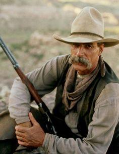 Sam Elliott in Conagher 1991 Western Film, Western Movies, Western Art, Cowboy Girl, Cowboy And Cowgirl, Katharine Ross, Real Cowboys, Tom Selleck, The Lone Ranger