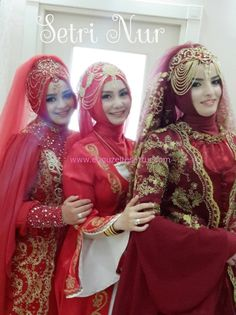 The most beautiful hijab henna models 2014 - Wedding Dresses 2019 Best Brindal Wedding Hijab Styles, Wedding Dresses 2014, Pakistani Wedding Dresses, Bridal Dresses, Bridal Hijab, Hijab Bride, Pakistani Bridal Wear, Islamic Fashion, Muslim Fashion