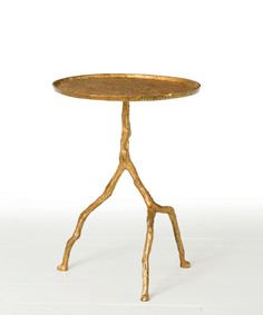 Arteriors Forest Park Gold Iron Table