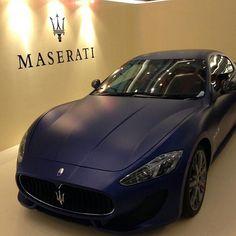 Matte Maserati. this one please