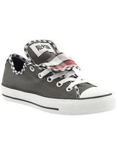 Converse Chuck Taylor All Star Double Tongue | Super cute!