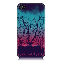 Fab.com | Deer Forest iPhone 4 Case  #Antler #Antlers