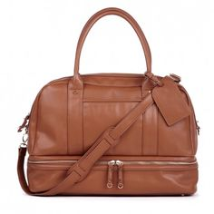 Sole Society - Large Satchels - Sia -Cognac