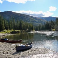 Canoe Trip for Yukon visitors who want a wilderness canoeing experience that won't break the bank. £925