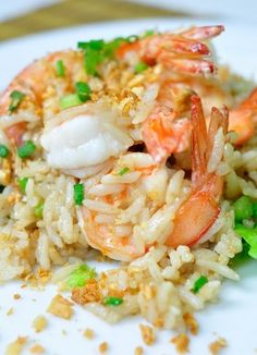 flavor of Thai: Shrimps Fried Rice (Khao Pad Goong)