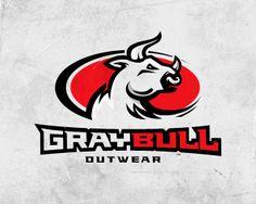 Gray Bull  by ancitis  - Sports Logo - logopond.com - #logo #design