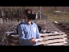Oculus FPV - a fully immersive live view from a DJI Phantom 2 - YouTube