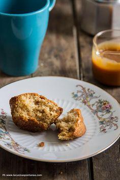 muffin alle nocciole e caramello salato