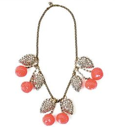 darling cherry necklace.