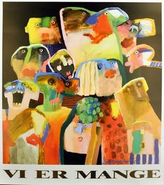 "Leif Sylvester poster ""We Are Many"""