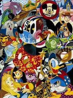 Disney Mickey Mouse collage :)