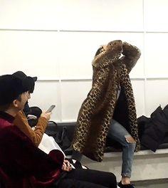 Jungkook! GD is walking this way act normal! ❤ #BTS #방탄소년단